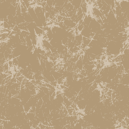 attrition: Seamless vector texture. Grunge beige background with attrition, cracks and ambrosia. Old style vintage design. Graphic illustration.