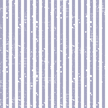 attrition: Seamless vector striped pattern. Blue geometric background with vertical lines. Grunge texture with attrition, cracks and ambrosia. Old style vintage design. Graphic illustration. Illustration