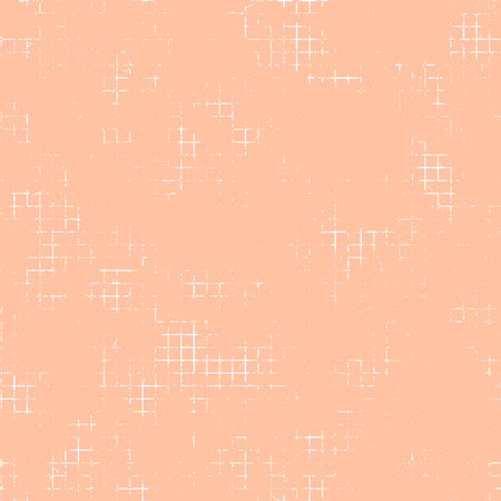 attrition: Seamless vector texture. Pink Grunge background with attrition, cracks and ambrosia. Old style vintage design. Graphic illustration. Illustration