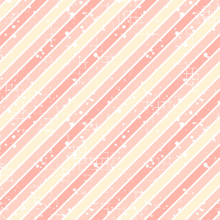 attrition: Seamless vector striped pattern. pink geometric background with diagonal lines. Grunge texture with attrition, cracks and ambrosia. Old style vintage design. Graphic illustration.