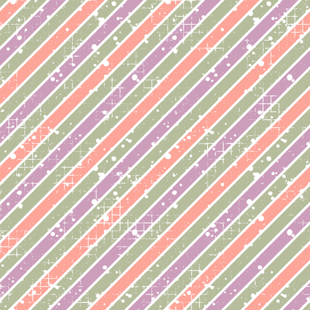 Seamless vector striped pattern. geometric background with diagonal lines. Grunge texture with attrition, cracks and ambrosia. Old style vintage design. Graphic illustration. Vektoros illusztráció