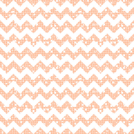 Seamless vector striped pattern. pink geometric background with zigzag. Grunge texture with attrition, cracks and ambrosia. Old style vintage design. Graphic illustration.