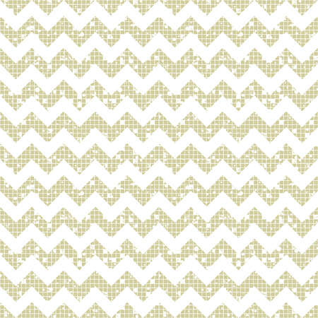 attrition: Seamless vector striped pattern. beige geometric background with zigzag. Grunge texture with attrition, cracks and ambrosia. Old style vintage design. Graphic illustration.