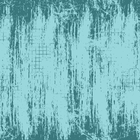 attrition: Vector background. Template, old style vintage design. Graphic illustration. Grungy blue textured background with attrition, cracks and ambrosia.