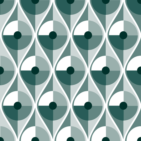 Seamless vector abstract pattern. geometric symmetrical repeating background.