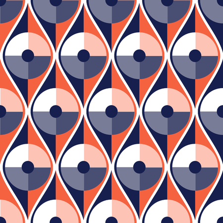 ironing: Seamless vector abstract pattern. geometric symmetrical repeating background.