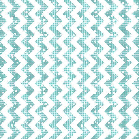 Seamless vector striped pattern. Geometric background with zigzag. Grunge texture with attrition, cracks and ambrosia. Old style vintage design. Graphic illustration.