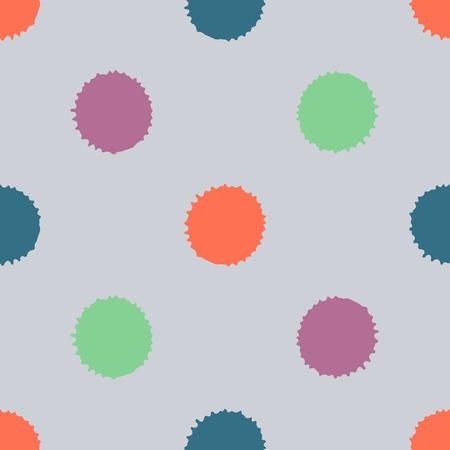 Naadloos patroon, tegel met inc splash, vlekken, vlekken en penseelstreken. Het eindeloze malplaatje van Grunge voor Webachtergrond, drukken, behang, oppervlakte, het verpakken, herhaalt elementen voor ontwerp.