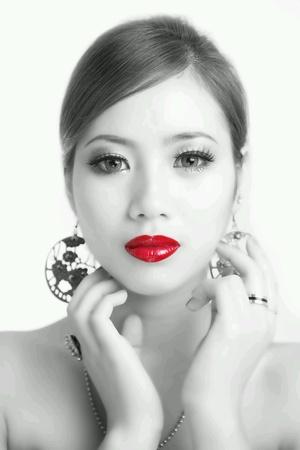 labios rojos: Labios rojos