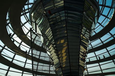 parliaments: Reichstag Dome
