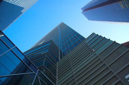 elite: Office towers Stock Photo