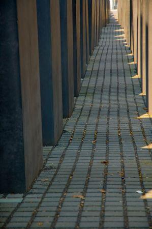 holocaust: Holocaust Memorial Stock Photo
