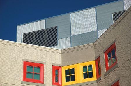 Modern hospital for the treatment of sick children in Calgary Alberta. Stock Photo - 848120