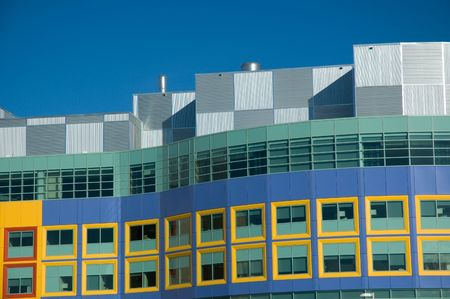 calgary: Modern hospital for the treatment of sick children in Calgary Alberta. Stock Photo