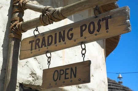 Generic trading store open sign