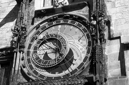 Astronomical Clock in Prague.