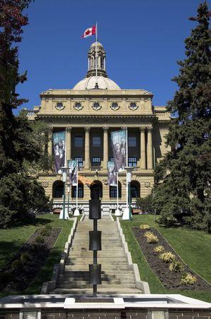 legislature: The Alberta Legislature Building.