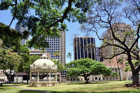 bandstand: Royal Bandstand, Iolani Palace, Honolulu, Hawaii