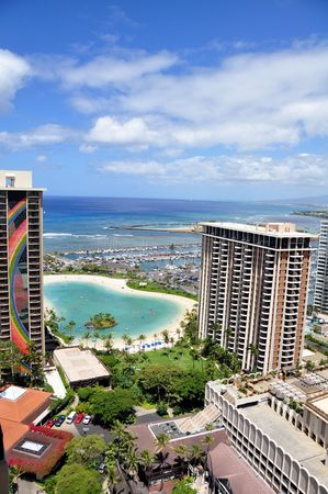 waikiki beach: Waikiki Beach. Oahu, Hawaii