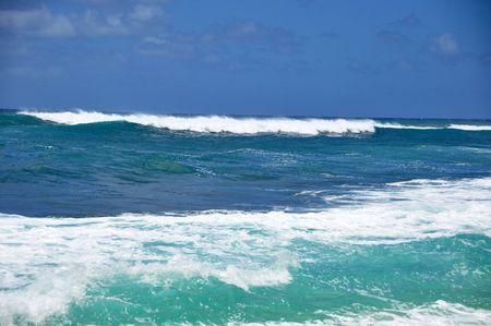banzai pipeline: Sunset Beach, North Shore, Oahu, Hawaii