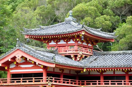 valley of the temples: Byodo-In Buddhist temple, Valley of the Temples, Oahu, Hawaii