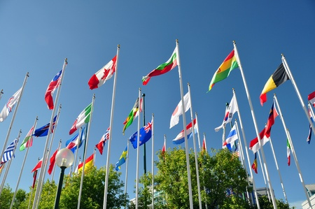 Flags of the world Stock Photo - 10177355