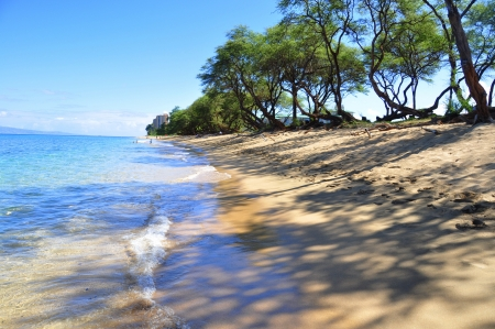 Kaanapali Beach in West Maui, Hawaii   photo