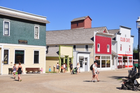 Heritage Park Historical Village, Calgary, Canada. Stock Photo - 14818256