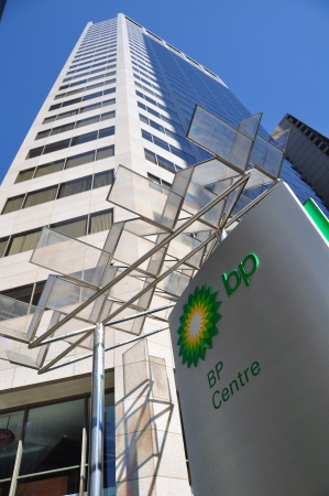 bps: CALGARY, ALBERTA - SEPTEMBER 21: - BPs Canadian head office in Calgary Alberta on September 21, 2012. BP is one of the developers of the Alberta Oilsands, and a global energy company based in the UK.