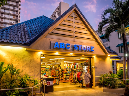 convenience store: ABC convenience store on April 27, 2014 in Waikiki, Hawaii  ABC is the dominant convenience store for tourists on the Hawaiian islands  Currently there are 56 locations here