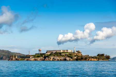 Alcatraz Island in San Francisco, USA.