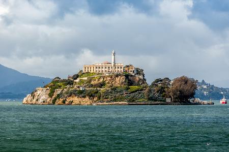 Alcatraz Island in San Francisco, USA.