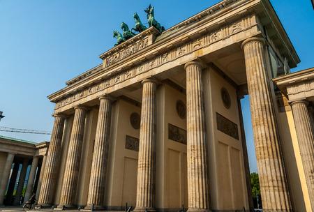 brandenburger tor: Brandenburger Tor (Brandenburg Gates) in Berlin, Germany