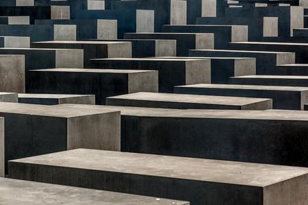 holocaust: Berlin Holocaust memorial. Editorial