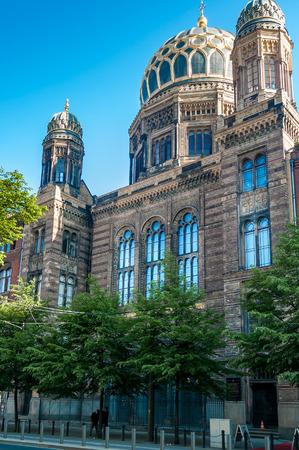 synagogues: Neue Synagogue  Berlin Stock Photo
