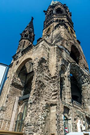kaiser: Kaiser Wilhelm Memorial Church in Berlin, germany.