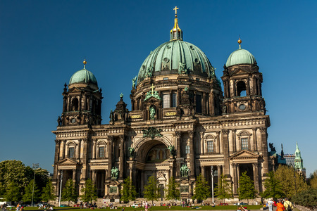 dom: C�l�bre cath�drale Berliner Dom � Berlin, Allemagne. �ditoriale