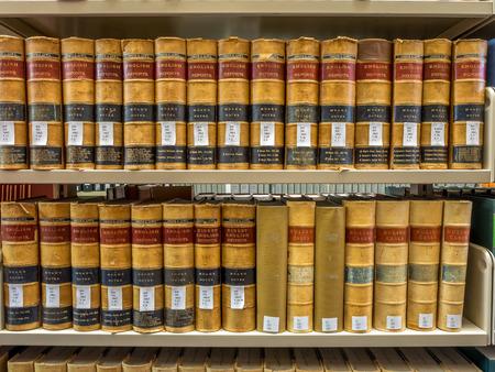 Bibliotheek van de wet - de Oude Boeken van de Wet