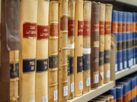 law library: Law Library - Old Law Books