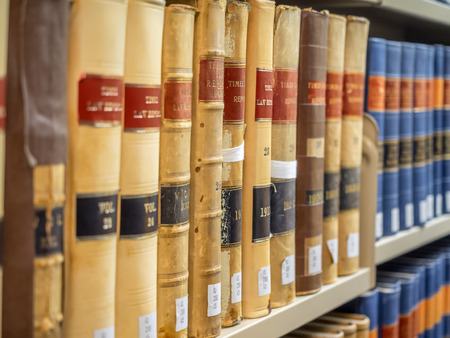 Law Library - Old Law Books
