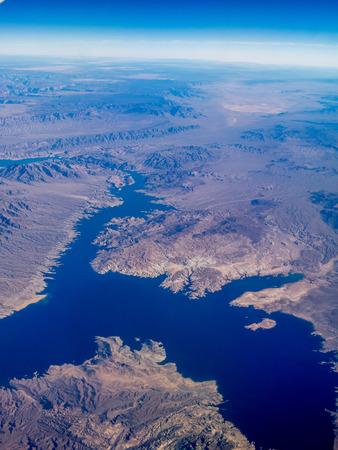 nevada: Lake Mead in Nevada.