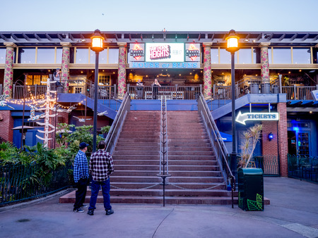 54238243 anaheim california february 11house of blues bar in downtown disney outside the disneyland park on february 11 2016 in anaheim california