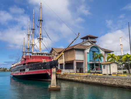 HONOLULU, HI - AUG 6: The Hawaii Maritime Center on August 6, 2016 in Honolulu, Hawaii. It was closed to the public effective May 1, 2009. Its future status is currently unknown. Editorial