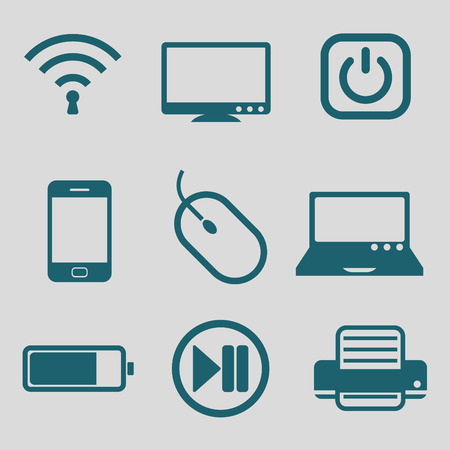 technology tool: flat icon for technology tool Illustration