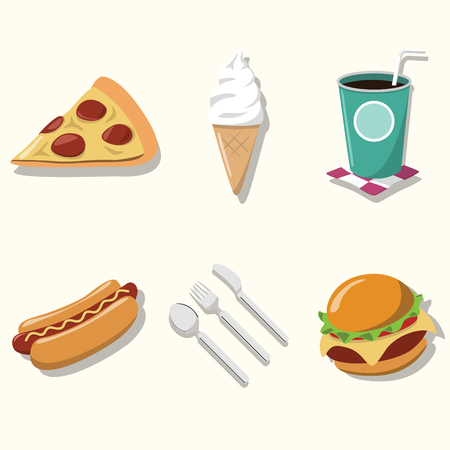 soda pop: Object of Fast food