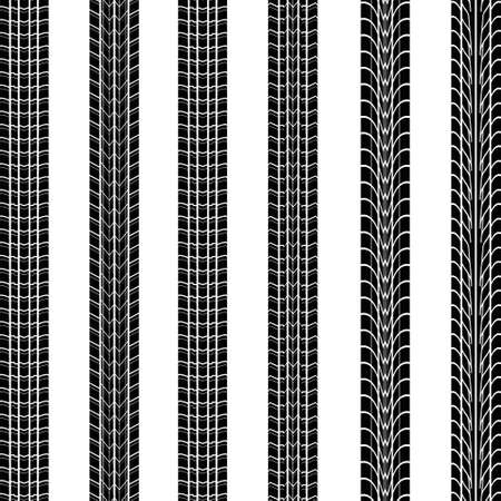 tire imprint: Tires print Illustration