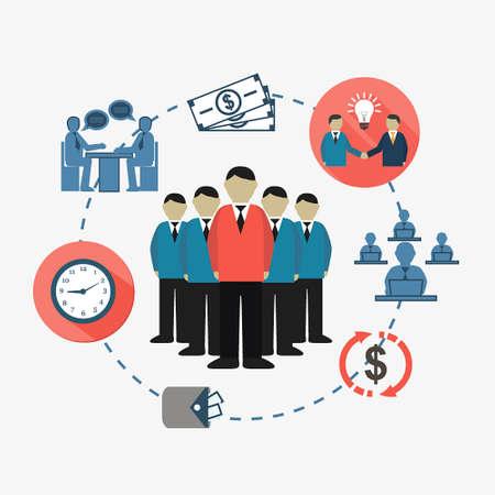 üzlet: business meet