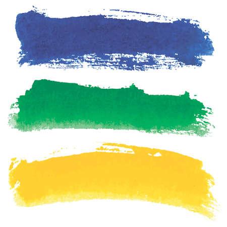 watercolour: Watercolour banners Illustration