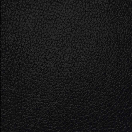 forniture: black leather texture background surface Illustration