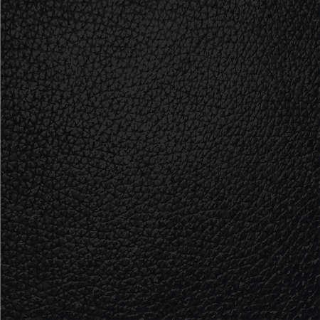 forniture: cuero negro superficie textura de fondo Vectores